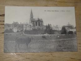 AISEY SUR SEINE : L'église, L'abside ................ 201101-1644 - Autres Communes