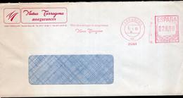 España - 1993 - Carta - Via Aerea - Franqueo Mecanico - Mutua Tarragona Assegurances - A1RR2 - 1991-00 Cartas