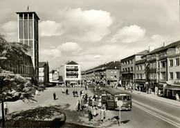 WESEL Am Rhein, Hohestrasse, Kerkhoff, Bus (1960s) AK - Wesel