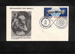 USA 1975 Space / Raumfahrt Apollo - Soyuz Test Project Interesting Letter - USA