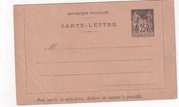 CHINE   ENTIER POSTAL/GANZSACHE/POSTAL STATIONARY CARTE-LETTRE - Brieven En Documenten