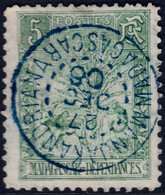 ✔️ Madagascar 1903 - Zébu Et Voyageur, Cachet MANJAKANDRIANA  - Yv. 66 (o) - Depart 1 Euro - Gebraucht