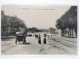 Versailles. Avenue De Paris. Perspective Du Palais - Versailles