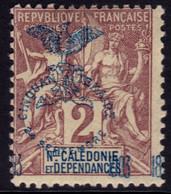 ✔️ Nouvelle Calédonie 1903 - Surcharge Cinquantenaire - Yv. 68 * MH - Ungebraucht