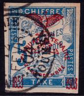 ✔️ Nouvelle Calédonie 1903 - Taxe Surcharge Cinquantenaire - Yv. 1 (o) - Postage Due