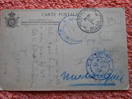 Cpa Belgique Envoyée Congo Belge 1917 Guerre 14-18 Ww1 1wk - Armada Belga