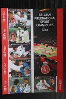 BL121 'Judo' - Ongetand - CW: 50 Euro - Zeer Mooi! - Imperforates
