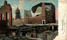 SAN FRANCISCO CALIFORNIA MAJESTIC THEATRO AFTER THE EARTHQUAKE AND FIRE 1906  USA EEUU TEATRO THEATER  Theatrecollection - Sin Clasificación