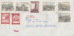 EXPRESS AUTRICHE Pour PARIS - ZELL Am See / Orly / Paris Montévidéo - 02/1967 - Errores & Curiosidades