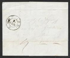 Italy Austria - 1840 Entire Letter - Meran / Merano To Trient / Trento - 1. ...-1850 Prephilately