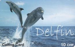 *SVIZZERA* -  Scheda Usata - Dolphins