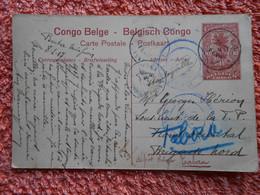 Cpa  Envoyée De Buta à Tabora 1917 Congo Belge Guerre 14-18 - 1894-1923 Mols: Cartas