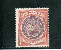 ANTIGUA 1903-9 * 2 SCAN - 1858-1960 Colonia Británica