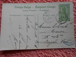 Cpa  Envoyée De Stanleyville à Albertville 1917 Congo Belge Guerre 14-18 - 1894-1923 Mols: Cartas