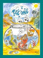 16 Angoulême Music Enbul 2005 ( Scaphandrier, Coquillages, Coraux, Sirène ) (illustration Vincent Sauvion) - Angouleme