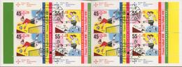 Bund Markenheftchen 2011 Fußball-WM Der Frauen MH 84 (2857/58) Gest. (C17409) - Markenheftchen