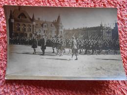9 Cpa Ak Photo Foto Pologne Militaire Ceremonie Poland - BYTOM  Beuthen Tarnowskie Góry Tarnowitz Schlesien, - Polonia