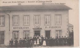 57 - HETTANGE GRANDE - RESTAURANT PIERRE PARADEIS - CARTE RARE - Altri Comuni
