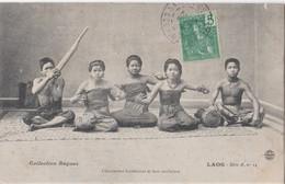 CPA  Laos    Chanteuses Laotiennes Et Leur Orchestre   Collection Raquez   Série A 14  Voyagée 1907 - Laos