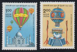 1983-INDIA-FIRST BALLOONS-MINT SET** - Neufs