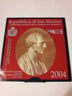 "San Marino (Saint Marin) 2004: 2 Euro Commémorative ""Bartolomeo Borghesi"" (en Coffret BU) - San Marino"