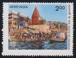1983-INDIA-GHATS OF VARANASI-MINT SET** - Neufs