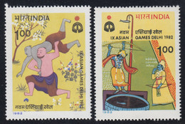 1982-INDIA-IX ASIAN GAMES-MINT SET** - Neufs