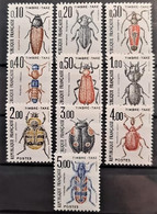 FRANCE 1982/83 - MNH - 103-112 - Complete Set! - Timbres Taxes - 1960-.... Nuevos