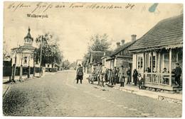 Guerre 1914-18.Wolkowysk Ville De La Voblast De Hrodna Ou Oblast De Grodno Biélorussie.troupes Allemandes. - Guerre 1914-18