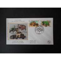 FDC Soie - Camion De Chantier, Tracteur - 24/10/2003 Paris - 2000-2009