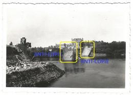 WW2 PHOTO ORIGINALE Soldats Allemands Pont Ko à CHALONNES SUR LOIRE P. Angers Saint Georges MAINE ET 49 - 1939-45