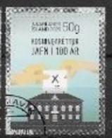 Islande 2020, Timbre Oblitéré Droit De Vote - Gebraucht