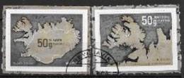 Islande 2020, Série Oblitérée Europa Routes Postales - Gebraucht