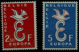 BELGIUM 1958 EUROPA CEPT MI No 1117-8 MNH VF!! - 1958