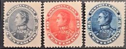 VENEZUELA 1893 - MNG - Sc# 128, 129, 130 - Venezuela