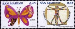 Saint Marin - Europa CEPT 2006 - Yvert Nr. 2054/2055 - Michel Nr. 2261/2262  ** - 2006