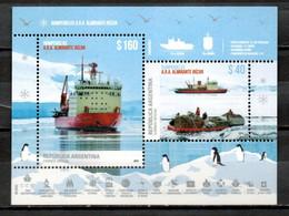 Antártida Argentina: Rompehielos A.R.A. Almirante Irizar (HB) - Blocs-feuillets