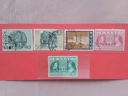 OCCUPAZIONE ITALIANA 1941 - CORFÙ - Nn. 22-23-24-35 (36 Non Calcolato) + Spese Postali - Corfù