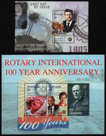 Grenada 2005 - Mi-Nr. 5602-5604 & Block 738 ** - MNH - Rotary - Grenada (1974-...)