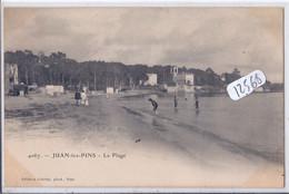 JUAN-LES-PINS- LA PLAGE - Juan-les-Pins