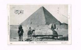 Pyramide De Chéops.Expédié à Paris. - Pirámides