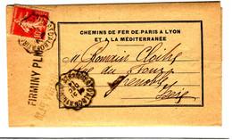 43264 - Ambulant ST RAMBERT  D ALBON A FIRMINY - 1877-1920: Semi Modern Period