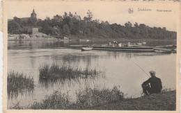 Stokkem ,( Dilsen , Lanklaar ) Maas - Overzet ; Pêche à La Ligne , Pêcheur - Dilsen-Stokkem