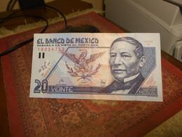 MEXICO    1994  -      20    PESOS     BILLETS  -  HIGH GRADE - Messico