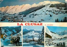CPSM La Clusaz-Multivues   L305 - La Clusaz
