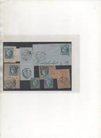 Lot B: 20C NAPOLEON SUR FRAGMENT - 1849-1876: Klassik