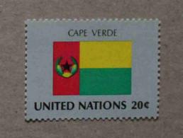 Ny82-01 : Nations-Unies (N-Y) / Drapeau Des Etats Membres De L'ONU - Cap-Vert - Neufs