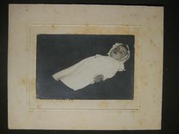 FOTO POST MORTEM ENFANT BAMBINO CHILD - Personas Anónimos