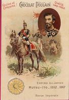 """N°08 Chromo-Image """"Chocolat Poulain"""" Empire Du Japon Mutso-Ito 1852-1867  Revue Impériale - Poulain"""