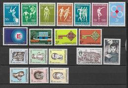 LUXEMBOURG - ANNEE COMPLETE 1968 ** MNH - - Años Completos
